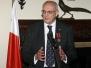02-11-2011 - Wręczenie odznaczenia Bene Merito Profesorowi Leszkowi Borysiewiczowi, rektorowi Uniwersytetu Cambridge