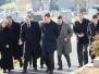 30-11-2012 - Radosław Sikorski podczas uroczystości złożenia wieńca na grobie Jana Karskiego na cmentarzu Mount Oliviet w Waszyngtonie