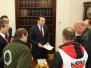 01-10-2014 - Marszałek Sikorski przyjął przedstawicieli związków protestujących przed Sejmem