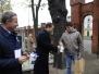 01-11-2014 - Marszałek Radosław Sikorski wziął udział w kweście na rzecz ratowania cmentarza Starofarnego w Bydgoszczy