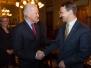 30-01-2015 - Marszałek Radosław Sikorski z Wiceprezydentem USA Joe Bidenem podczas spotkania w Białym Domu