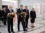 10-04-2015 - Marszałek Sejmu oddał hołd tragicznie zmarłym parlamentarzystom w 5. rocznicę katastrofy smoleńskiej