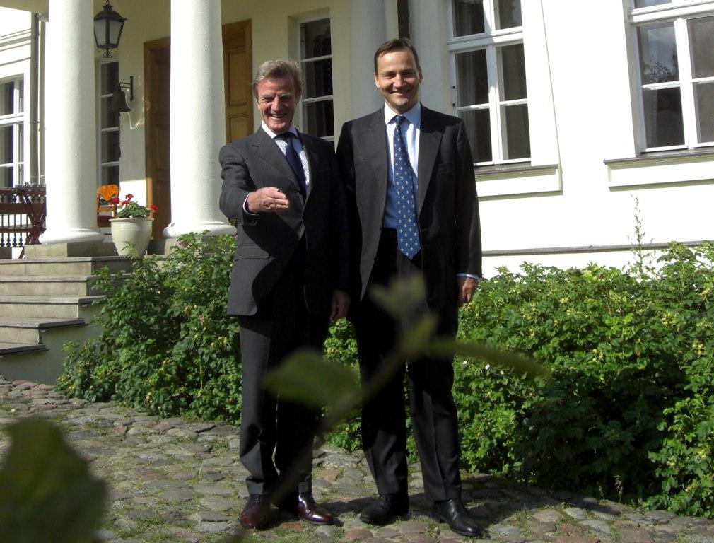 Wizyta Ministra Spraw Zagranicznych Francji - bernarda Kouchnera (20-07-2009)