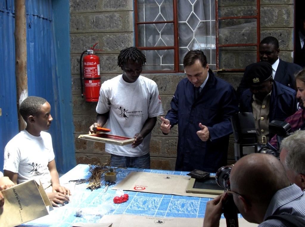 Wizyta Ministra Sikorskiego w Afryce (27-30 września 2009)