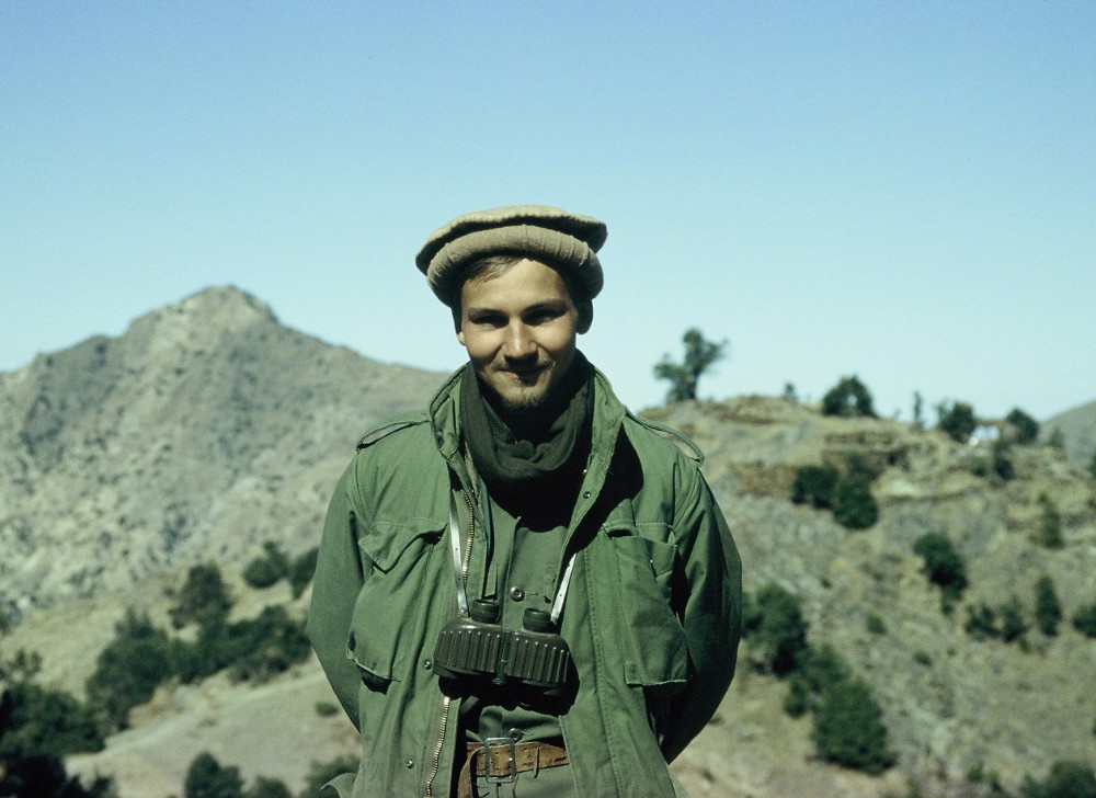 Radek Sikorski W Afganistanie